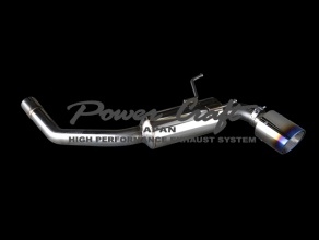 Power Craft SUBARU BRZ Single Muffler
